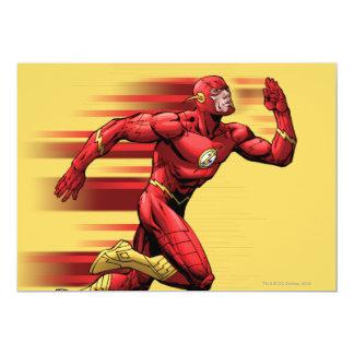 Flash Running 13 Cm X 18 Cm Invitation Card
