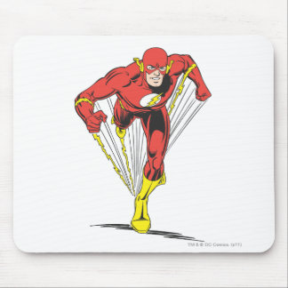 Flash Runs Forward Mouse Pad