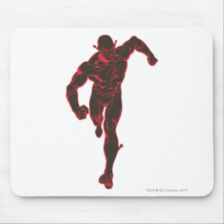 Flash Showtime Red/Black Mouse Pad