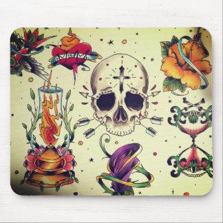 flash tattoo mouse pad