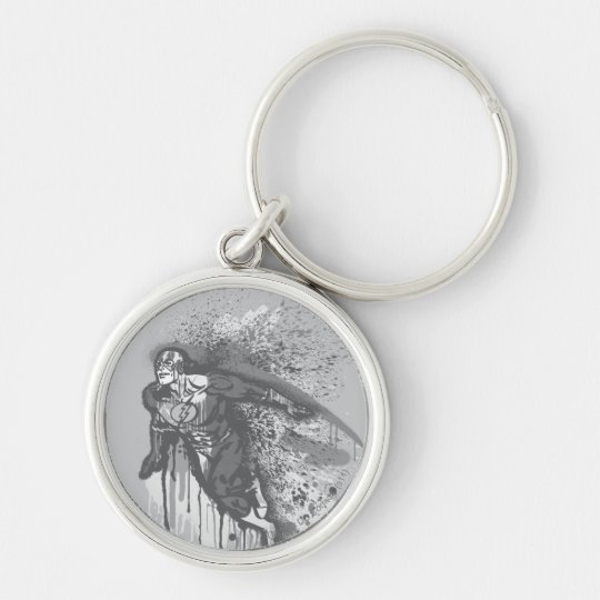 Flash - Twisted Innocence Poster BW Key Ring