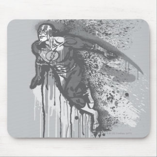 Flash - Twisted Innocence Poster BW Mouse Pad