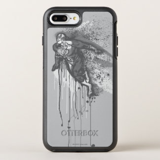 Flash - Twisted Innocence Poster BW OtterBox Symmetry iPhone 8 Plus/7 Plus Case