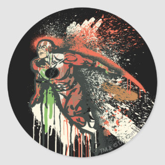 Flash - Twisted Innocence Poster Classic Round Sticker