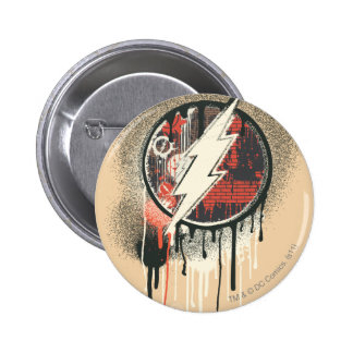 Flash - Twisted Innocence Symbol 6 Cm Round Badge