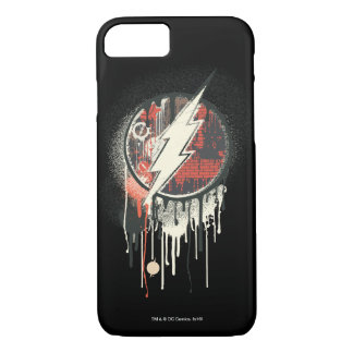 Flash - Twisted Innocence Symbol iPhone 8/7 Case