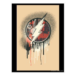 Flash - Twisted Innocence Symbol Postcard