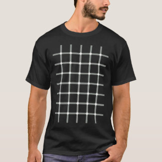 Flashing Black Dots - Optical Illusion T-Shirt