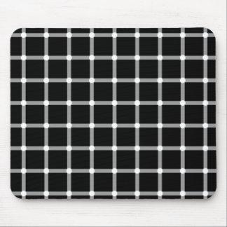 Flashing Dots Illusion Mouse Mat