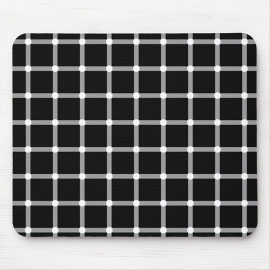 Flashing Dots Illusion Mouse Mat