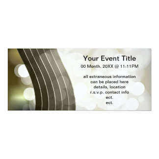 flashing lights invitations