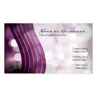 flashing lights punch card business cards
