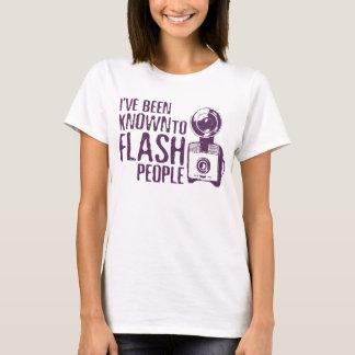 Flashing People Funny Photographer Shirt