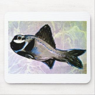 Flashlight Fish Mouse Pad