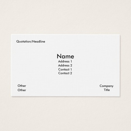 FLASHY BUSINESS & CALLING CARDS - ARTISTS PALATE