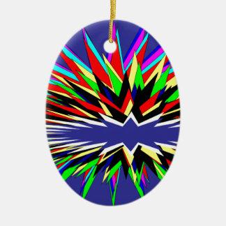 flashy purple christmas ornament