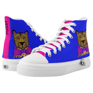 Flashy Pussycat Printed Shoes
