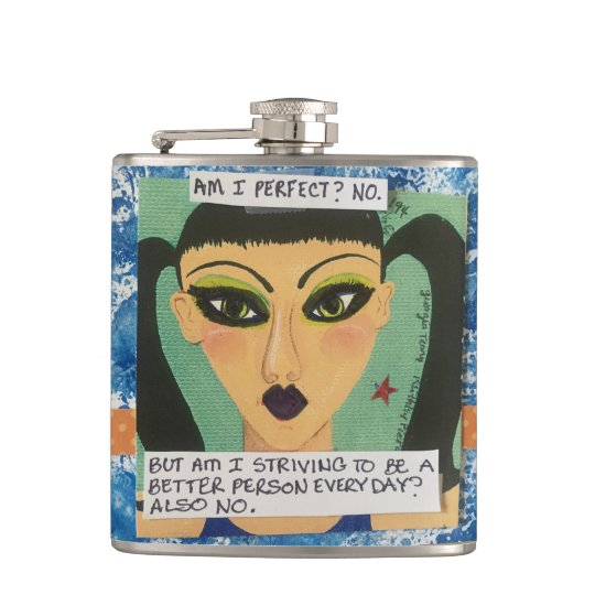 Flask- am I perfect? No. Hip Flask