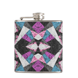 Flask Marble Geometric Background G438