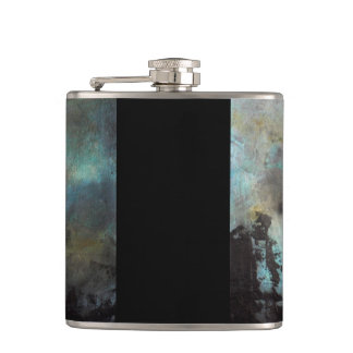 Flask with the painting storm