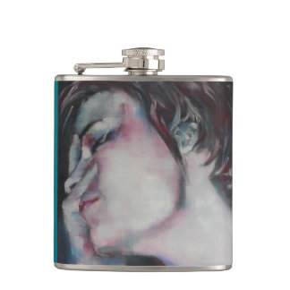 Flask woman petrol
