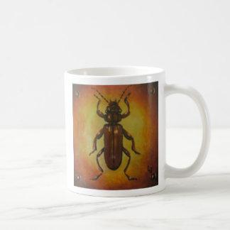 Flat Bark Beetle Basic White Mug