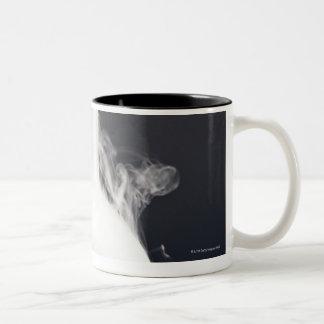 Flat-bottom Flask Two-Tone Mug