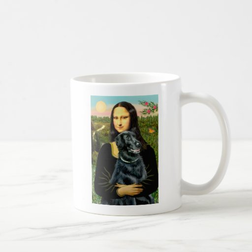Flat Coated Retriever 2 - Mona Lisa Mug