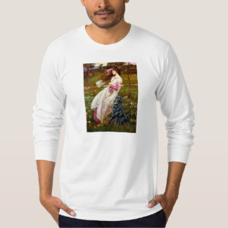 Flat Coated Retriever 2 - Windflowers T-Shirt