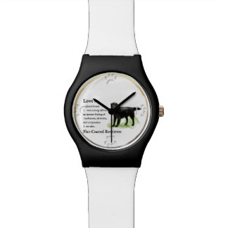 Flat-Coated Retriever Art Watch