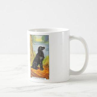 Flat-Coated Retriever Basic White Mug
