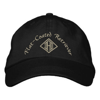 Flat Coated Retriever Dad Gifts Embroidered Hat