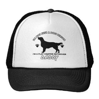 Flat Coated Retriever Dog Daddy Mesh Hat