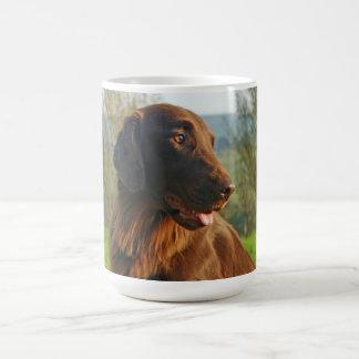 Flat Coated Retriever dog photo coffee, tea mug