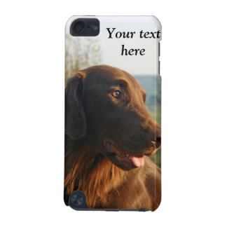 Flat Coated Retriever dog photo ipod touch 4G case iPod Touch (5th Generation) Cases