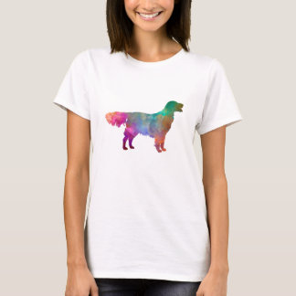Flat Coated Retriever in watercolor T-Shirt