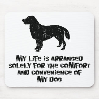 Flat-Coated Retriever Mouse Mat