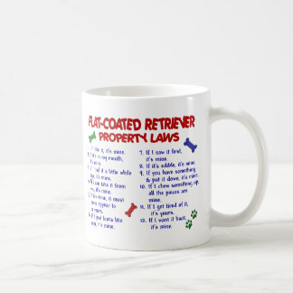 FLAT COATED RETRIEVER PL2 COFFEE MUG