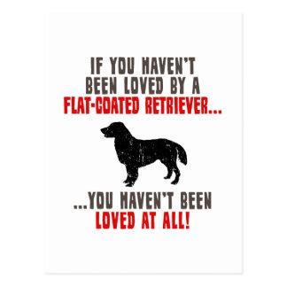 Flat-Coated Retriever Post Cards
