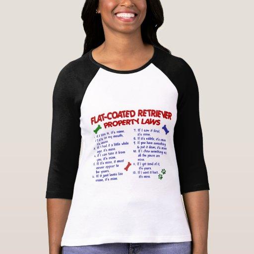 FLAT COATED RETRIEVER Property Laws 2 Tee Shirt