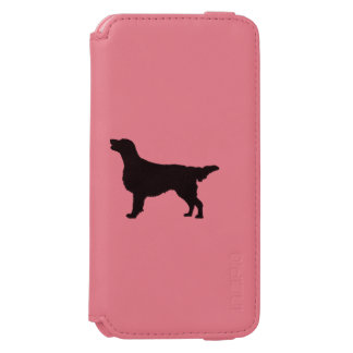 Flat-Coated Retriever Silhouette Love Dogs Incipio Watson™ iPhone 6 Wallet Case