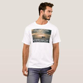 Flat Earth Calm Ocean - White T-Shirt