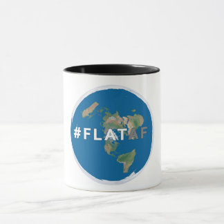 Flat Earth Coffee Mug | #flataf | Flat Earth