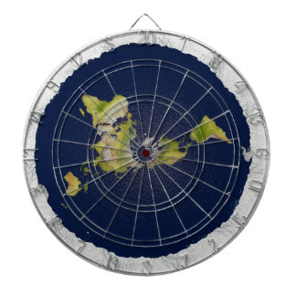 Flat Earth Dart Board