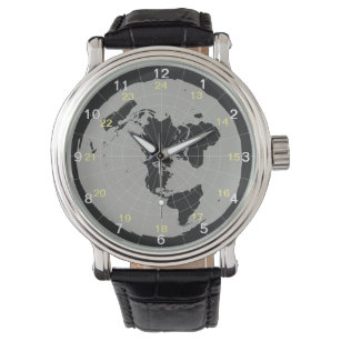 Flat Earth Design Watch