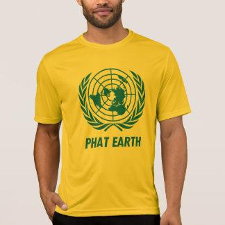 Flat Earth Designs - Gold PHAT EARTH - new CLASSIC T-Shirt