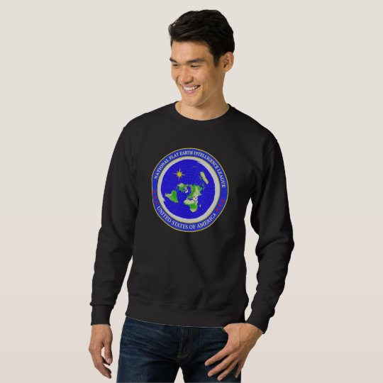 Flat Earth Designs - Intelligence League USA Sweatshirt