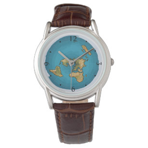 Flat Earth Map Watch