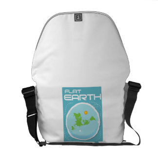 Flat Earth Messenger Bag 1