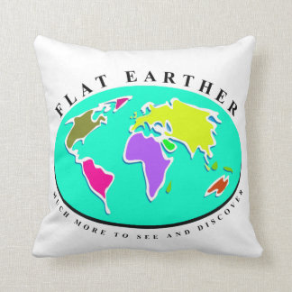 Flat Earth More To Discover Cushion